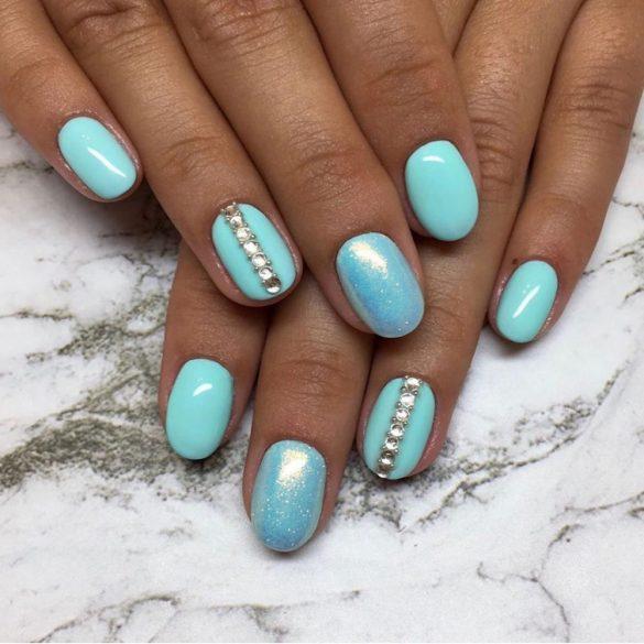 Gel Nail Polish - DN235 - Candy Mint
