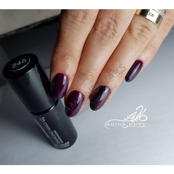 Gel Nail Polish - DN246 - Alpine Plum
