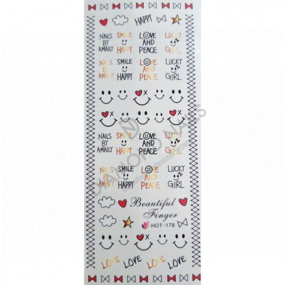 Nail art Love Stickers- HOT178