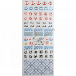 Nail art stickers summer- HOT192