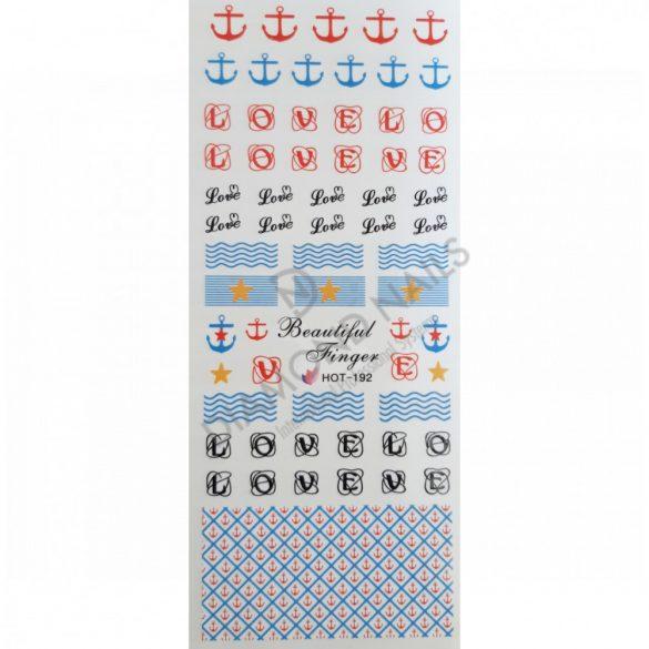 Nail art stickers summer- HOT192