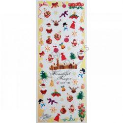 Nail Art Stickers - Christmas - HOT193