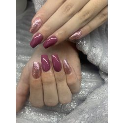 Gel Nail Polish - DN252 - Red Grape