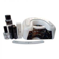 Premium Gel Polish Starter Kit with 36W UV-LED Lamp (SN498 white)