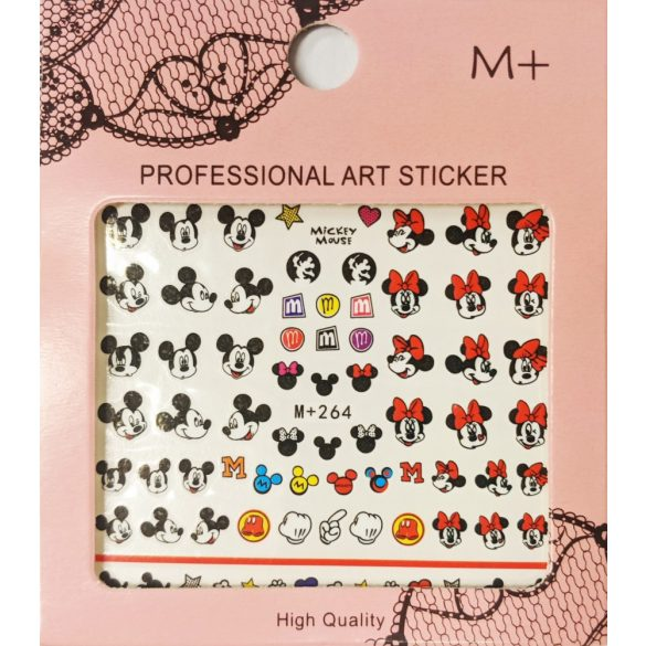 Nail Art Stickers - Mickey & Minnie Mouse - MP264