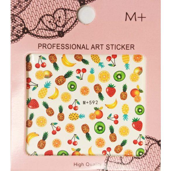 Nail Art Stickers - Summer Fruits - MP592