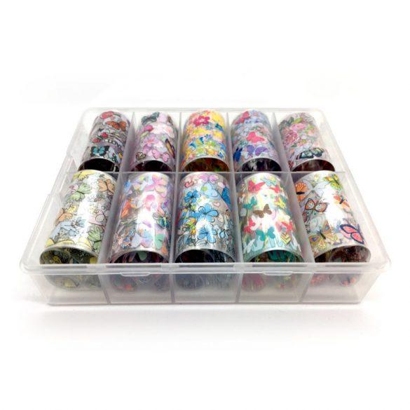 Transfer Foil Nail Art - Butterflies (10 pcs)