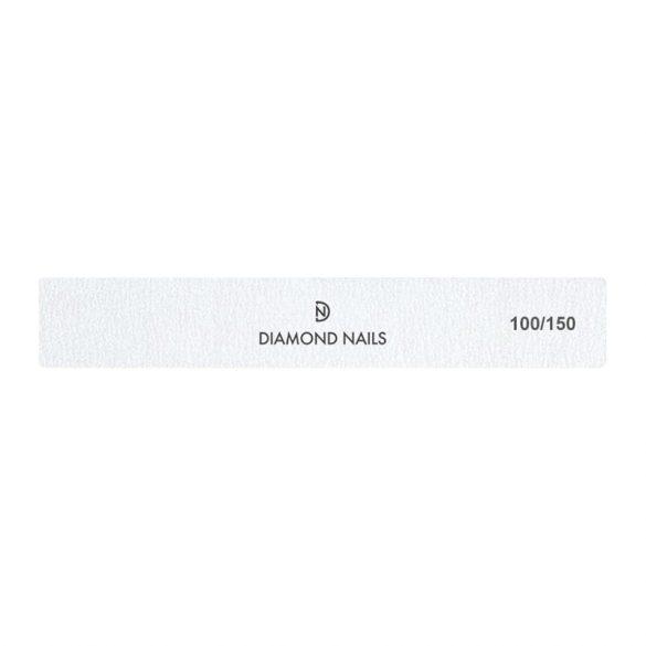 Square nail file White 100/150