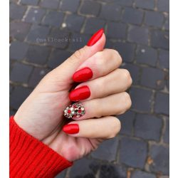 Gel Nail Polish - DN003 - Ferrari Red