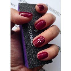 Gel Nail Polish - DN012 - Purple Burgundy