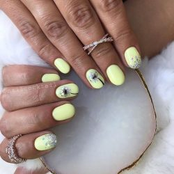 Gel Nail Polish - DN016 - Yellow Cream