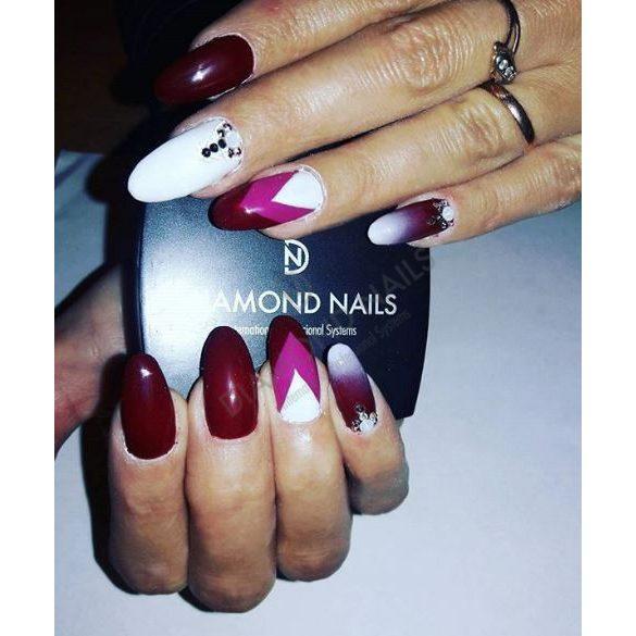 Gel Nail Polish - DN028 - Maroon Pearl