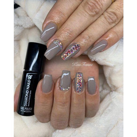Gel Nail Polish - DN034 - Grey Nude