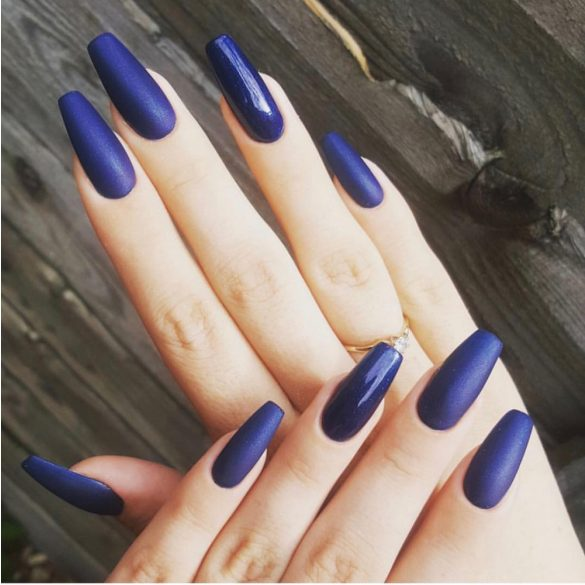 Gel Nail Polish - DN037 - Midnight Blue