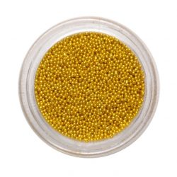 Nail art beads - Gold