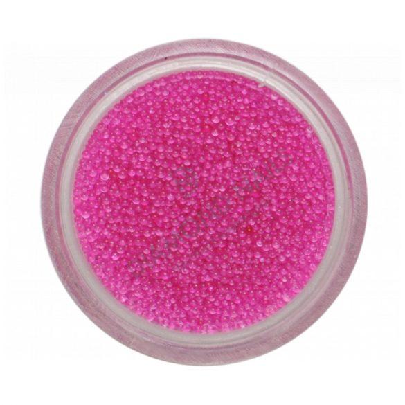 Nail Art Beads Transparent Pink