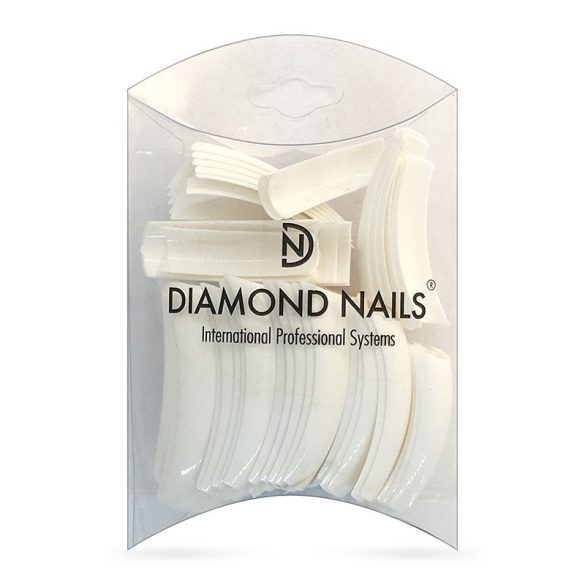 Competition French White Tip Mixed size - 50pcs