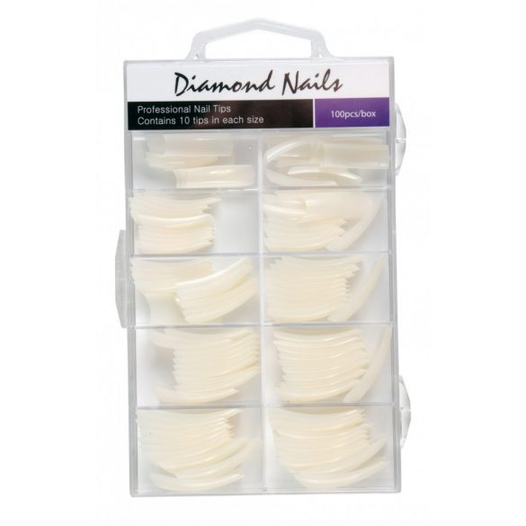 Competition Tip Natural Mixed Size - 100pcs