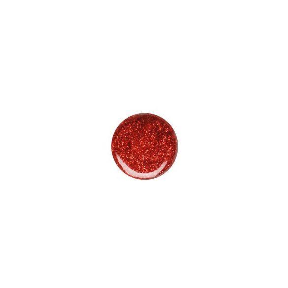 Colour Gel- Red Glitter #070