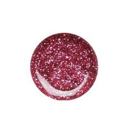 Colour Gel- Pink Glitter #076