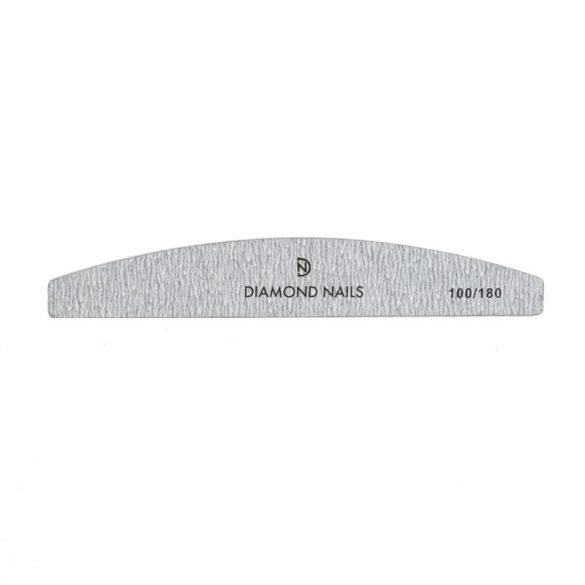 Half moon nail file grey 100/180