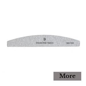 Grey Halfmoon Nail File